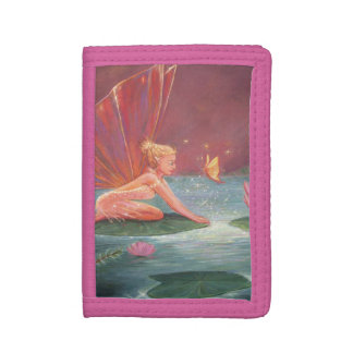 The Lotus Pond Fairy Trifold Wallet