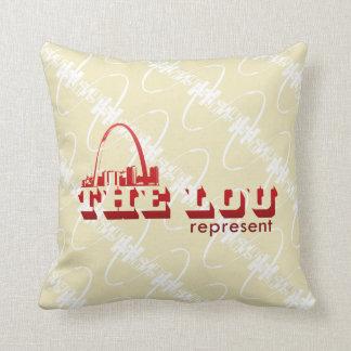 The Lou St. Louis Represent Cushion