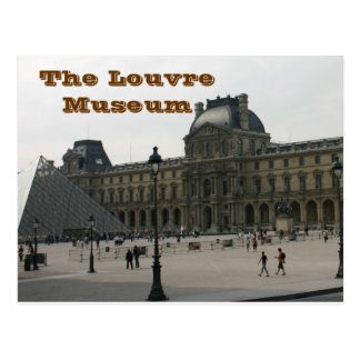 The Louvre Museum in Paris Postcard