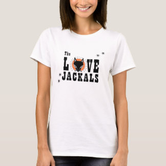 The Love Jackals Fitted Ladies T-shirt