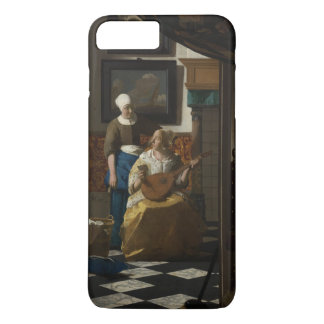 The Love Letter by Johannes Vermeer iPhone 7 Plus Case