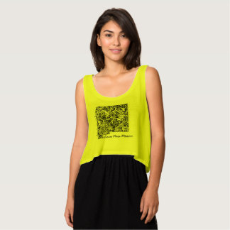 """The """"Love New Mexico"""" crop top Flowy Crop Tank Top"""