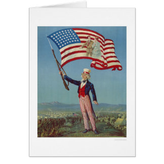 The Love of Freedom Greeting Card