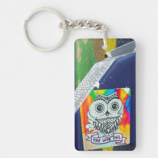 The Love Owl Keychain