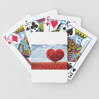 The Love Tree Bicycle Playing Cards