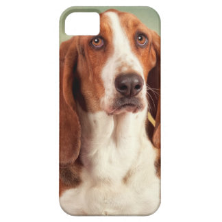 The Loveable Basset Hound iPhone 5 Cover