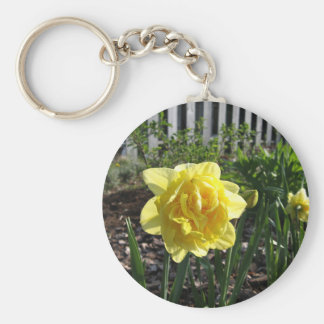 The Lovely Daffodil Key Ring