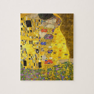 The Lovers Kiss After Klimt Jigsaw Puzzle