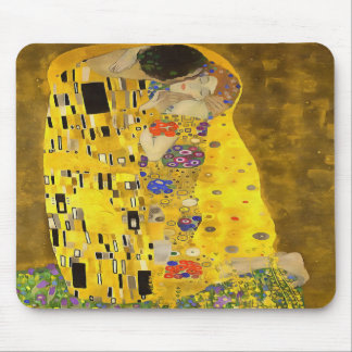 The Lovers Kiss After Klimt Mouse Pad