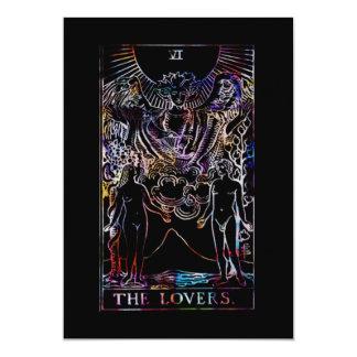 The Lovers Tarot Card Wedding 13 Cm X 18 Cm Invitation Card