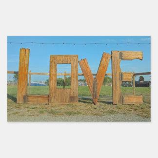 The LOVEworks sign Arrington Virginia Sticker