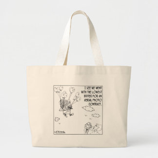 The Lowest Bidder Jumbo Tote Bag