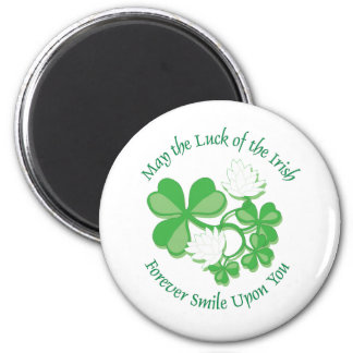 The Luck Of The Irish 6 Cm Round Magnet