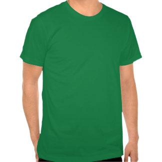 The luck of the Irish  Irish green coated man T-shirt