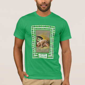 The luck of the Irish  Piggies from the farmyard T-Shirt
