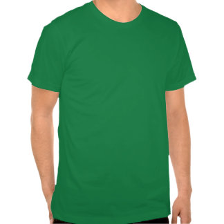 The luck of the Irish  Shamrock girl T Shirts