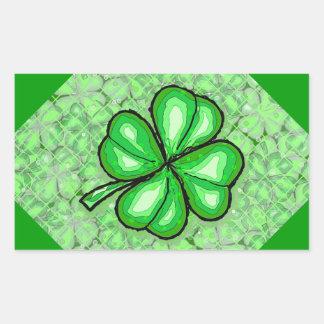 The Luck of the Irish Rectangle Sticker