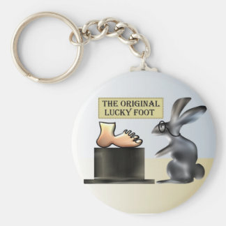 The lucky foot by Anjo Lafin Key Ring