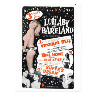 THE LULLABY OF BARELAND POSTCARD