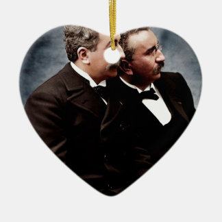 The Lumière brother photo Ornaments