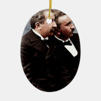 The Lumière brother photo Christmas Ornament