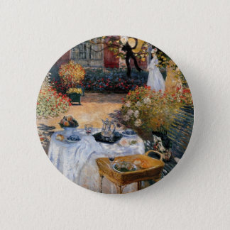 The Luncheon by Claude Monet 6 Cm Round Badge