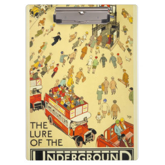 The Lure of the Underground, London Clipboard