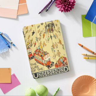 The Lure of the Underground, London iPad Air Cover