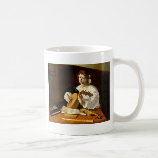 The Lute Player Coffee Mug