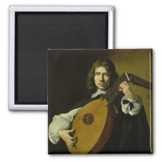 The Lute-Player Magnets