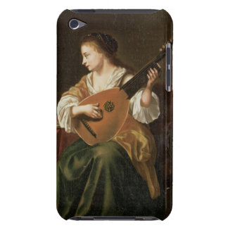 The Lute Player (oil on panel) iPod Case-Mate Cases