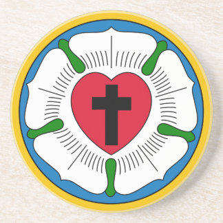 The Luther Rose Lutheranism Martin Luther Coaster