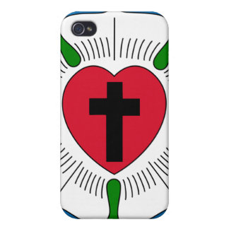 The Luther Rose Lutheranism Martin Luther iPhone 4/4S Case