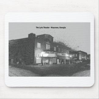 THE LYRIC THEATRE - WAYCROSS, GEORGIA MOUSE PAD