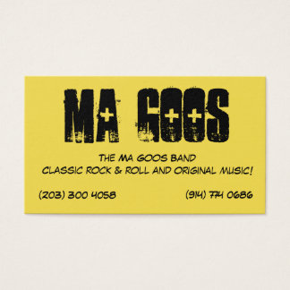 The Ma Goos Business Cards