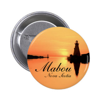 The Mabou Light 6 Cm Round Badge
