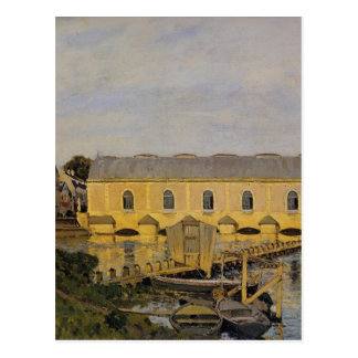 The Machine at Marly by Alfred Sisley Postcard