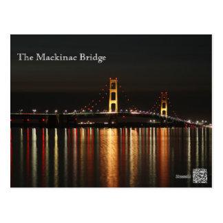The Mackinac Bridge Postcard