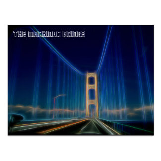 The Mackinac Bridge Postcard