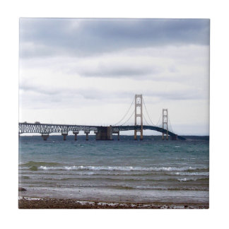 The Mackinac Bridge Tile