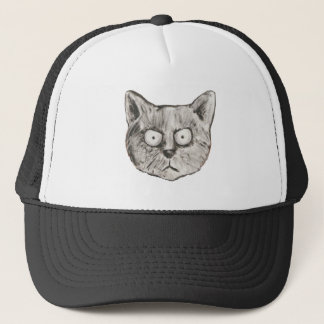 The mad cat trucker hat