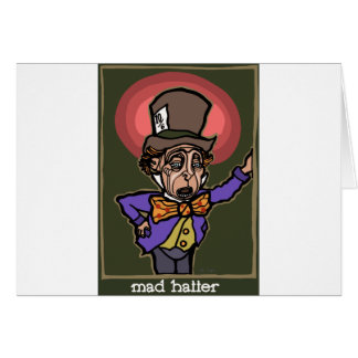The Mad Hatter Card