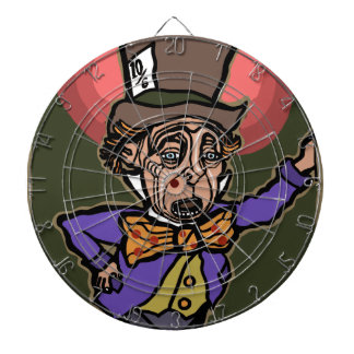 The Mad Hatter Dartboard