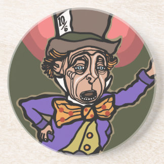 The Mad Hatter Drink Coaster