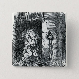 The Mad Hatter has been imprisoned by Queen 15 Cm Square Badge