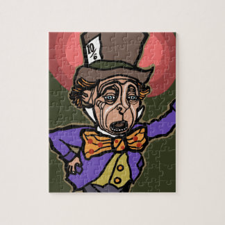 The Mad Hatter Jigsaw Puzzle