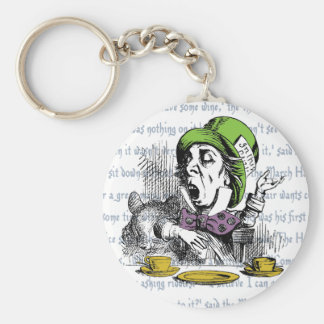 The Mad Hatter Key Ring