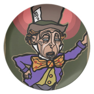 The Mad Hatter Plate