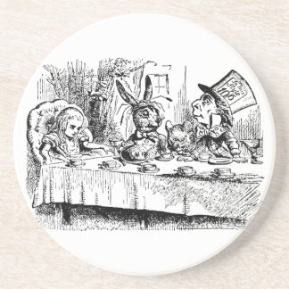 The Mad Hatter s Tea Party Beverage Coaster