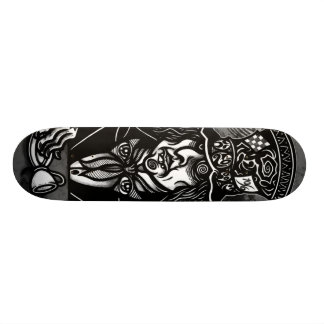 The MAD HATTER Skate Board